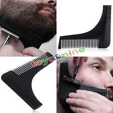 Plantilla modelado Barba Peine Para Peinar herramienta recorte línea facial care