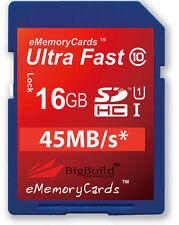 16GB Memory Card for Nikon DSLR D610 D5200 D7100 D600 Camera 16GIG SD SDHC UK