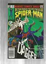 Spectacular Spiderman 64 and 69   1ST and 2ND  CLOAK AND DAGGER!!  NEWSTAND!