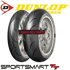 Dunlop Sportsmart TT Coppia 120 70 zr 17 180 55 zr 17 Gomme Pneumatici Per Moto