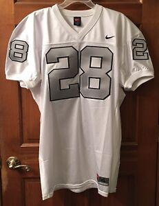 Oakland / Las Vegas Raiders NFL Custom Game Cut Alt Jersey Size XL