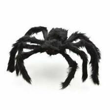 Spider Halloween Decoration Haunted House Prop Indoor Outdoor Black Giant Creepy