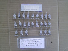 15mm Falcon Miniatures French & Indian War French De La Marine Marching