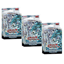 YUGIOH - 3 X SAGA OF BLUE EYES WHITE DRAGON STRUCTURE DECK FLAT PACKED BOXES INC