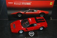 FERRARI 512 BBi Injection red rosso Kyosho diecast 1:18 IN BOX SUPERB! SEE INFO