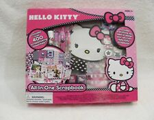 Hello Kitty All-In-One Scrapbook - Over 400 Scrapbooking Essentials - New