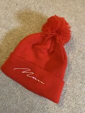 Men's BoohooMAN Rojo Bobble Beanie Sombrero Hera Couture Heron Asos Topman North Face