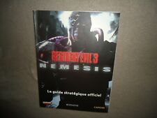 Guide français officiel Future press playstation RESIDENT EVIL 3 III Nemesis
