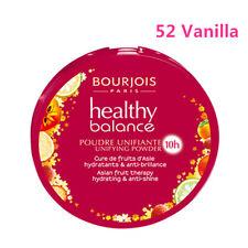 BOURJOIS Healthy Balance Compact Foundation Powder 52 Vanilla,100%sealed