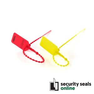 Plastic Light Duty Pull-Tight Tamper Evident Security Seals, Pulltite Tugtight
