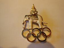Belle Broche Jeux Olympiques Des Années 1998 Thaïlande collection