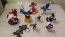 Smurf Figures. Lot of 10 Smurfs. Smurfette. Mixed Bunch. (Lot BBB)