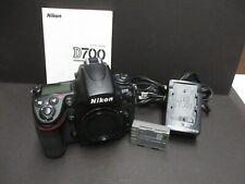 Nikon D700 camera body only 3,755 shutter count clean camera & clean sensor