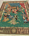 """Pictorial Court of Kings Rug 6'.6"""" X 8'.3"""" Perfect"""