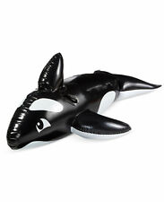 WEMBLEY INFLATABLE WHALE RIDE ON POOL TOY FLOAT  NIB