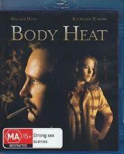 BODY HEAT (1981 William Hurt)  -  Blu Ray - Sealed Region B