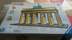 Brandenburg Gate, Berlin 324 piece Ravensburger 3D jigsaw puzzle. Complete