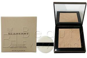 Burberry Nude Powder Sheer Luminous Pressed Powder 0.28oz NIB Choose Your Shade