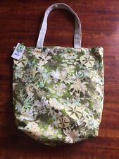 NWT Patagonia Canvas Shopping Bag Tote Floral Camo