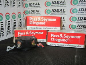 PASS & SEYMOUR 4710 CONNECTOR NEW IN BOX