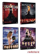 Revenge - Stagioni 1, 2, 3 e 4 (ultima stagione) (24 DVD) Cofanetti Italiani