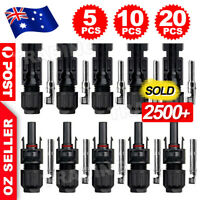 20 Pairs IP67 For Solar Panel 30A Line Plug Socket Connectors Male & Female