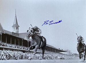 Secretariat Photograph Signed Ron Turcotte autograph Ky Derby 1973 triple crown