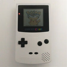 White Refurbished Nintendo Game Boy Color Console GBC Console + Game Card