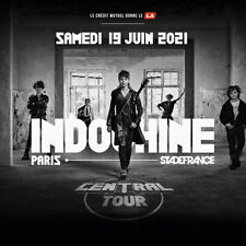 1 à 4 places ticket billets CATEGORIE 1 concert Indochine Stade de France Samedi