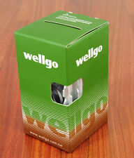 Wellgo WR-1 Superlite Bike Pedals Silver 108 Grams Light