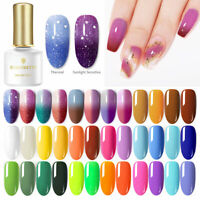 BORN PRETTY 6ml Gellack Colorful Soak Off Shining Fluorescence Thermisch UV Gel