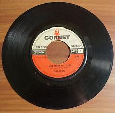 """Single 7"""" Vinyl Tess Teiges - In der Stadt Jede Träne tut weh 1970 SELTEN RAR!!"""