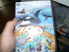 Zoo Tycoon 2: Marine Mania PC CD aquatic dolphins whales animals game add-on!
