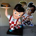 Bob's Big Boy Figure Restaurant Statue Advertising Fiberglass Statue (video)