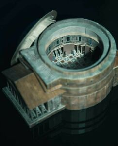 Pantheon Rome Playing Building Church Railway Layout Model Cardboard 3D Puzzles