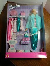 Vintage Barbie Fashion Wardrobe Doll Play Set 1999 27788 NIB Mattel