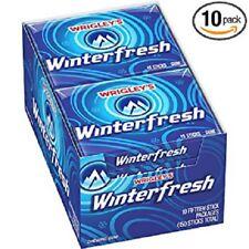 Wrigley's Winterfresh Gum 15-Stick Pack (10 packs)