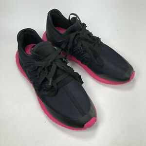 Adidas Tubular Radial S75393 Black Pink Rubber Lace Up Mens Casual Sneakers Sz 7