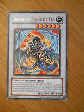 Carte Yu Gi Oh ! rare Dragon de la Chaîne de feu CSOC-FR040