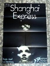 SHANGHAI EXPRESS * MARLENE DIETRICH - A1-FILMPOSTER WA Ger 1-Sheet RR´1932/´72