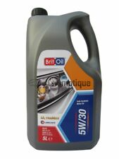 BRIT OIL 5W30 FULLY SYNTHETIC CAR VAN ENGINE OIL 5 LITRE 5L 5 30 5W 30 ZX1 ZX 1