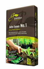 Evergreen Irish Peat John Innes Number No. 1 Compost 25L Greendays Horticulture