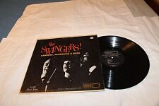 Lambert, Hendricks, and Ross LP on World Pacific with Zoots Sims-THE SWINGERS