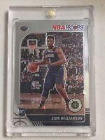 ZION WILLIAMSON 🔥 NEW 2020 NBA HOOPS PREMIUM STOCK Base Rookie RC #258