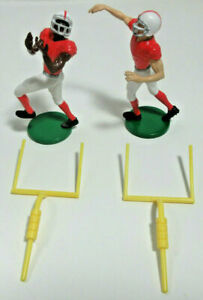 New Decopac Cake Toppers Set Touchdown American Football Players Figures & Goals