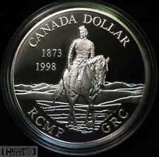 1998 Canada $1 Proof Silver Dollar