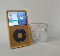 1TB iPod Classic 7th Gen | 2200mAh Battery & Flash Memory - Gold/Black 2.0.5