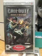 PSP Game: Call of Duty - Roads to Victory - NEW & SEALED - FREE P&P