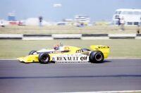 JEAN PIERRE JABOUILLE RENAULT RS10 35MM SLIDE BRITISH GRAND PRIX 1979
