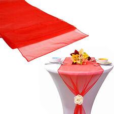 "30*275CM Hot Sheer Organza Table Runner Party Decor Wedding Supply DIY 12""X 108"""